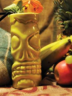 Kokomon signature cocktail Kokomo Zombie.