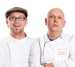 A21:sestä tuttu baarimestari Timo Siitonen on lyönyt hynttyyt yhteen keittiöpäällikkö Matti Jämsenin kanssa.