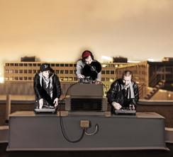 DJ-kollektiivitrio.