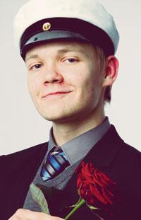 Lukiolaisten liiton puheenjohtaja Teppo Säkkisen, 19, mielestä parasta kouluruokaa olivat tähden muotoiset paneroidut kalapihvit.