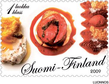 Hans Välimäki olisi halunnut postimerkkiinsä myös makua.