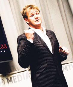 Gordon haukkui Cityn toimittajan, mutta piti Hans Välimäen ruoista.