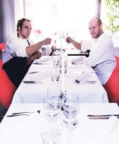 Tuominen ja Aura eivät ole irvokkaita uuden ravintolansa nimestä huolimatta.