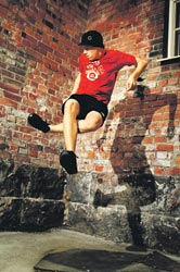 Kaupungin paras footbageilijä on myös tämän vuoden beatboxauksen Suomen-mestari.