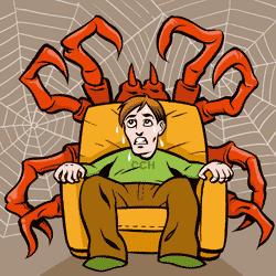 You are not alone! Foobikko projisoi pelkoon turvattomuudentunnettaan. Fobiat saattaavat usein pahentua elämän stressitilanteissa.