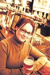 Reetta liittyi olutseuraan 25-vuotiaana.