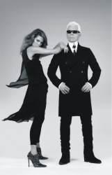 Muotifriikkien vuoden tapaus. Chanelille ja Chloélle suunnitellut suunnittelun grand old man Karl Lagerfeld suunnitteli Hennes&Mauritzille mustanpuhuvan malliston, joka on kaupoissa 12.11. Koskaan aiemmin huippusuunnittelija ei ole tehnyt omaa mallis