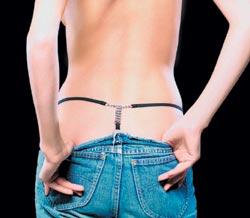 Kristallit eivät vahingoitu, kun peset ne rintaliivipussissa.