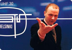 ATV:n päätoimittaja Kimpulainen.