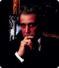 Al Pacinon karismaa Kummisetä-trilogiasta.