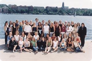 Hennes & Mauritzin 70-jäseninen deisng-tiimi.