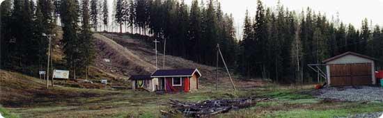 Pohjanmaan alpit eli Vuorenmaan hiihtokeskus.