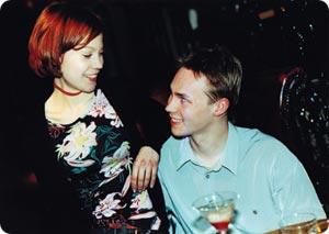 Heli ja Tuomas.