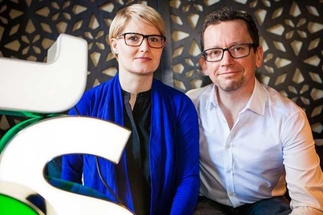 Harva pariskunta edistää suomalaista ruokakulttuuria yhtä intohimoisesti kuin Mira ja barry McNamara.