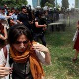 Taistelu puistosta levisi taisteluksi valtiosta ja ihmisarvosta