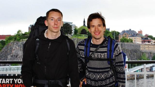 Unelmien tiellä -matkaajat Arimo Kerkelä ja Olli Lukkari