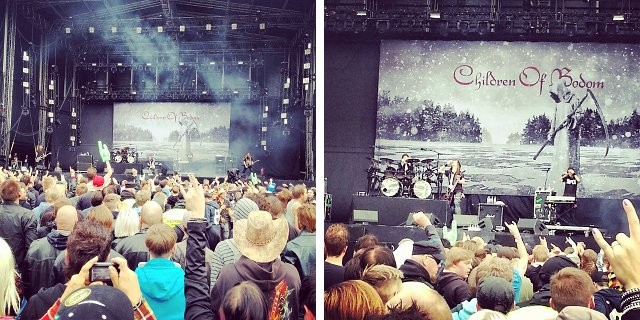 Children of Bodom oli odotettu esiintyjä.