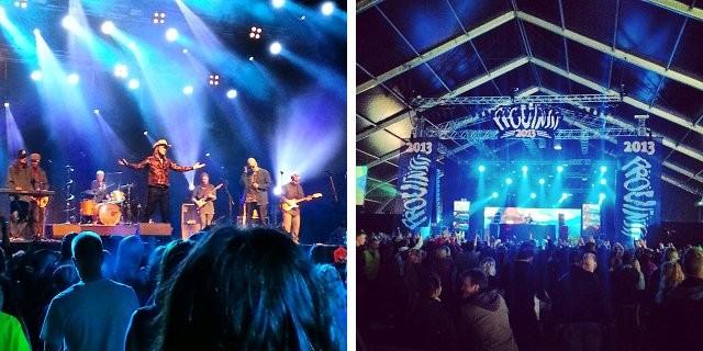 YleX -stagen valtasivat perjantaina sekä Stig että Renegade Electristagen artistit.