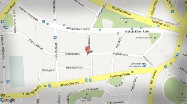 Myös Made in Kallio sijaitsee osoitteessa Vaasankatu 14.