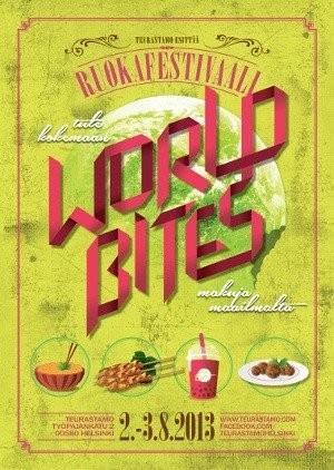 World Bites 2.-3.8.2013 @ Teurastamo.