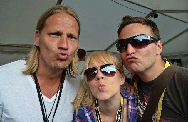 Alueelta bongattu Suomipopin Sami ja vanha tuttu Ossi.
