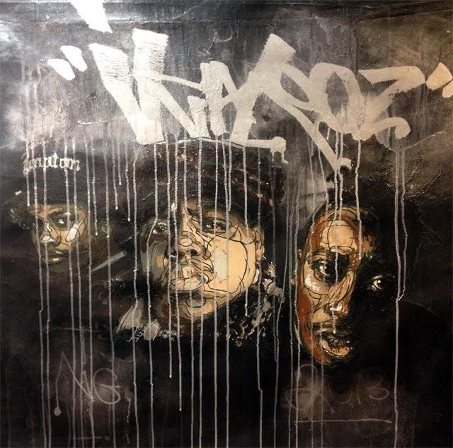 Make Your Mark -galleriassa voi tutustua ruotsalaisen graffitilegenda Ikarokzen töihin.