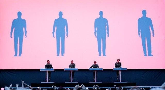 Tältä näytti Kraftwerk.