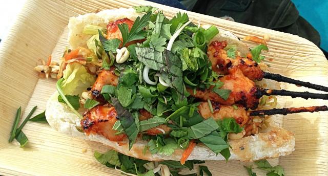 Ruokakuvaajaa ei minusta tällä räpsäisyllä saa mutta tämä New York Ninjan gluteeniton sandwich toimi!