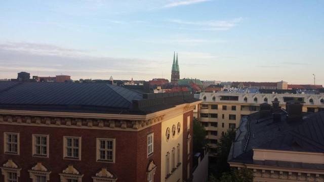 Helsingin kattojen yllä tapasin erään maahanmuuttajan. Sellaisen maahanmuuttajan, jota arvostan suuresti.