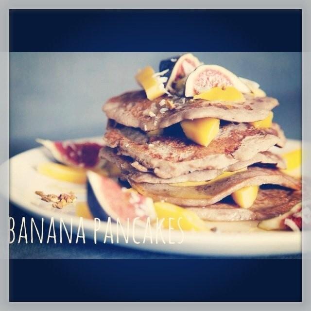 Banana Pancakesit ei koskaan petä.