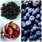 Tuoreet marjat ja hedelmät ♡ Luksusta
