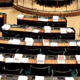 Wallinheimo ja tyhjä istuntosali