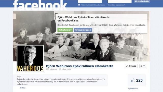 Kirjan ympärille ryhmittynyt verkosto Facebookissa
