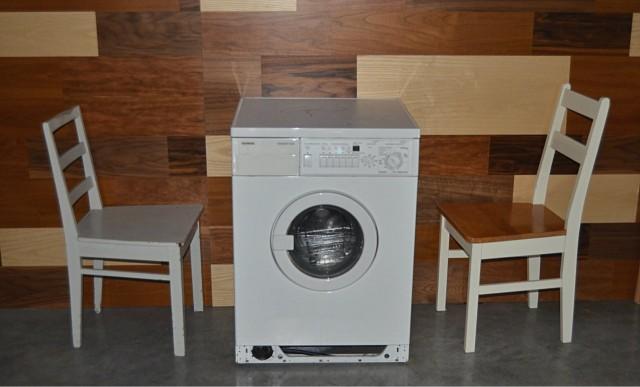 Pyykkiä ei ravintolassa pääse pesemään, pesukone saa Sokeassa Possussa täysin uuden käyttötarkoituksen.