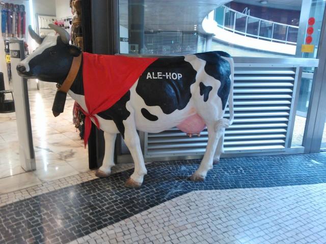 Mansikki houkutteli Lissabonissa shoppailemaan :)