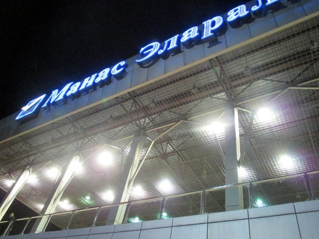 Manas Airport.