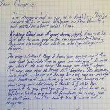 Isoisä dissaa kirjeessä homofoobisen tyttärensä