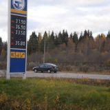 Dieselille hintaa Venäjältä