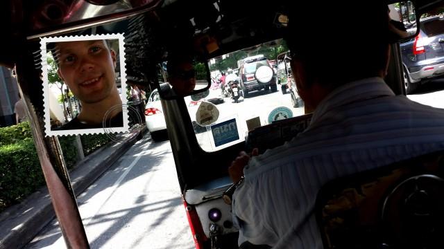 Tottakai Thaimaassa pitää vähän ajella Tuktukilla
