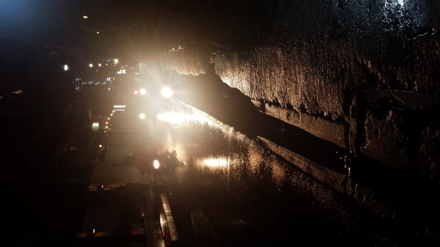 Vettä satoi kaatamalla. Taas kuva vinossa jotta saat niskavenytyksiä.