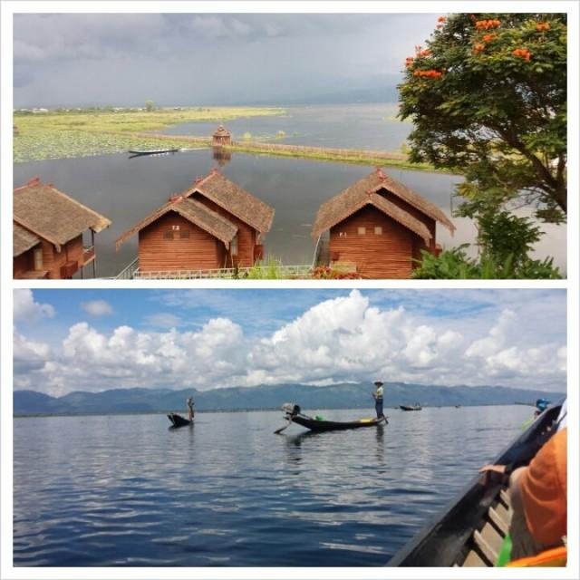 Burma / Myanmar Inle Lake järvi