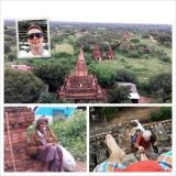 Myanmar: Burmalainen miljoonakaupunki Bagan