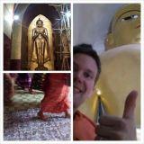 Yhdessä pagodassa oli yli 1400 Budhapatsasta.