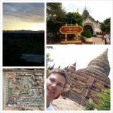 Bagan. Upea paikka jonka olemassaolosta en tiennyt ennen tätä reissua.