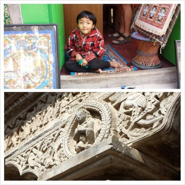 Nepal Kathmandun vanhasta kaupungista: Patanista.