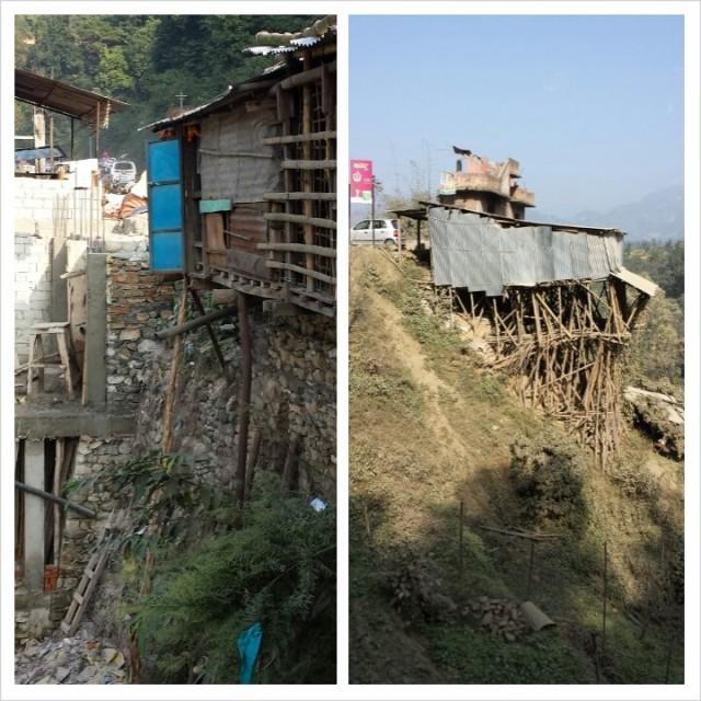 Nepalilaista arkkitehtuuria. Kestävä rakenne?