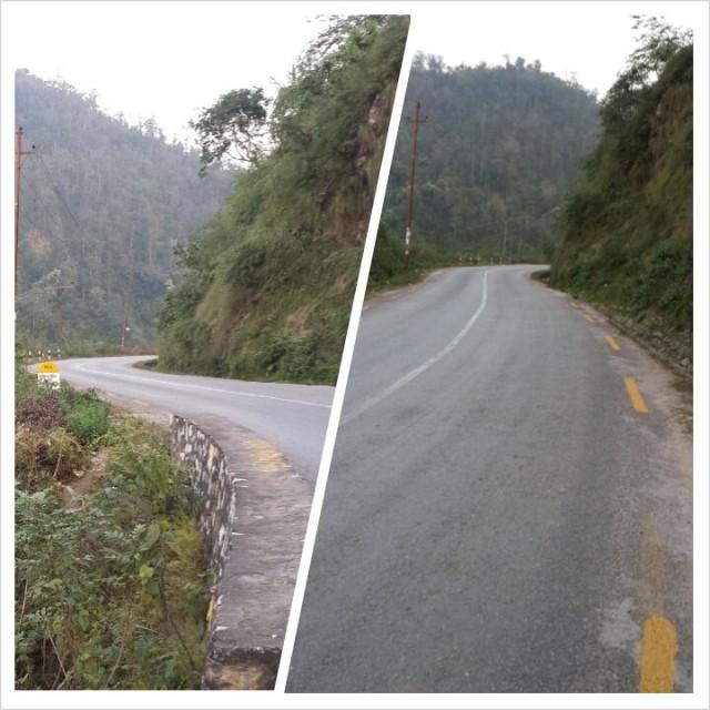 Päätiet Nepalissa ovat pääasiassa hyväkuntoiset.