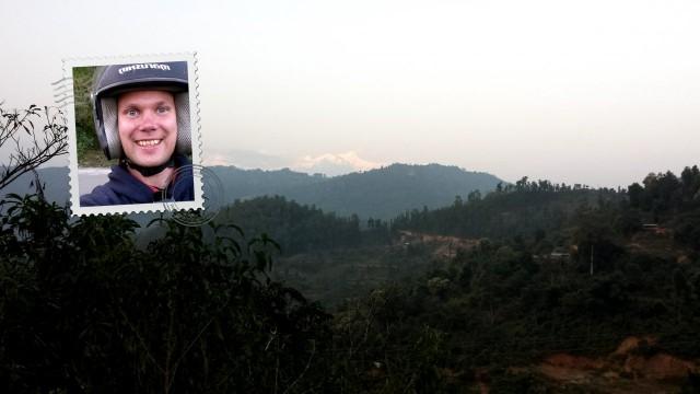 Nepalissa on maailman korkeimmat vuoret Mount Everst ja muita nyppylöitä kuten Annapurna (kuvassa).
