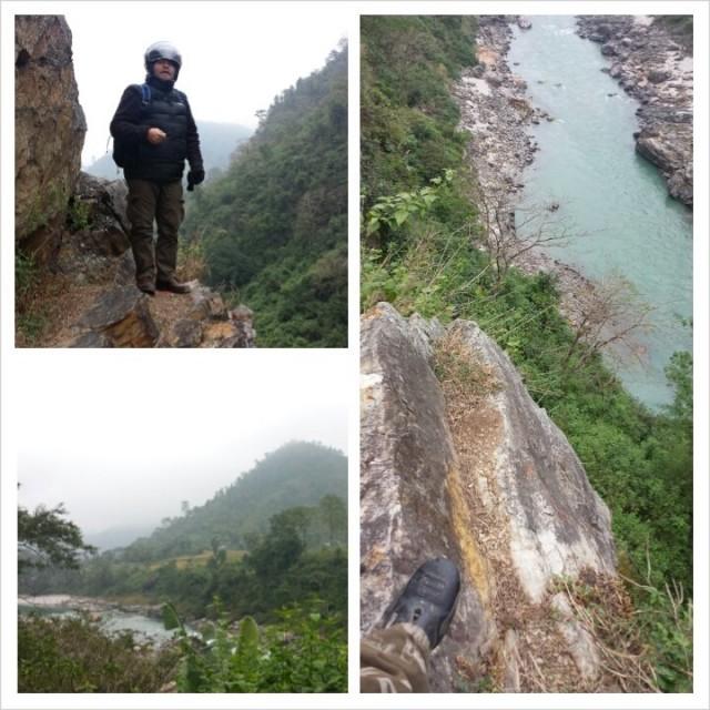 Nepalista löytää upeita jyrkänteitä ja kirkkaita vuoristojokia.
