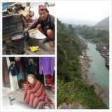 Prätkillä pääsee paikkoihin jonne turistibussi ei pysähdy. Oikeata Nepalilaista elämää.